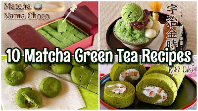 10 EASY Matcha Green Tea Desserts Recipes