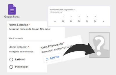 Cara Membuat Pertanyaan di Google Form