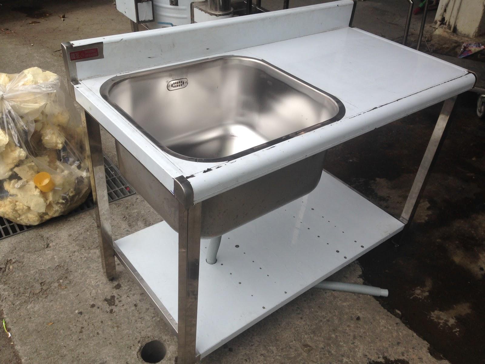 Kitchen Sink 33 X 22 Granite Table 30深水槽 左水槽 水槽加平台 深水槽 洗菜槽 厨房水槽 Nidbox 30深水槽加平台 左水槽右平台