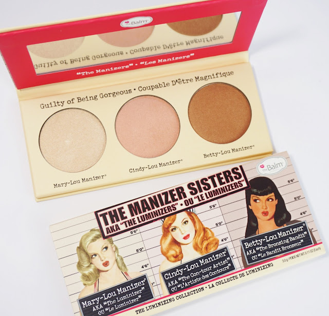 theBalm - The Manizer Sisters - Highlighter, Schimmer und Lidschatten! Mary-Lou Manizer, Cindy-Lou Manizer, Betty-Lou Manizer