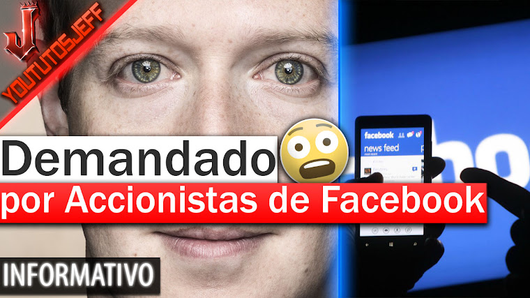 Mark Zuckerberg demandado por accionistas de Facebook