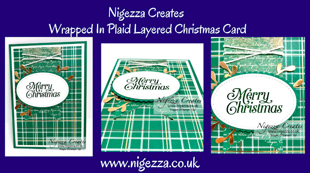 Nigezza Creates with Stampin' Up! Wrapped In Plaid and Perfectly Plaid