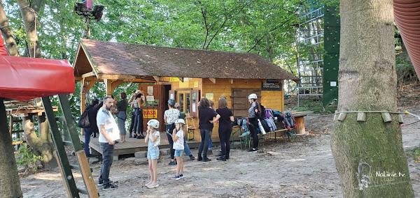 Park linowy Gdynia dla dzieci