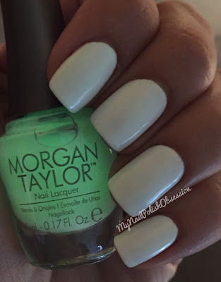 Morgan Taylor Glow In The Dark Topcoat
