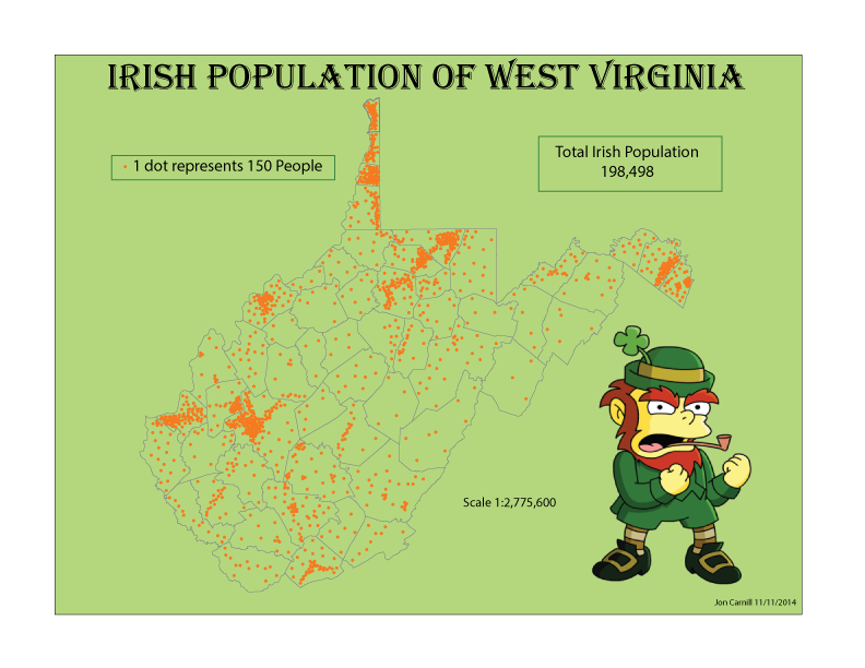 population of west virginia