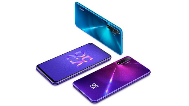 Spesifikasi dan Harga Huawei Nova 5T di Indonesia
