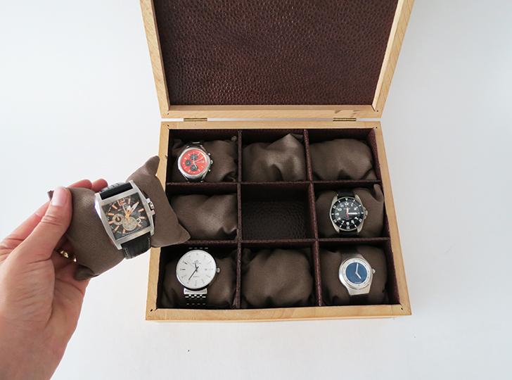 How to make a watch storage box