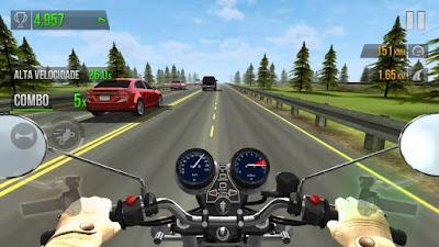 تحميل لعبة traffic racer مهكره برابط مباشر
