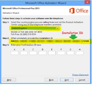 Cara Mudah Aktivasi Microsoft Office 2013 Dengan mudah dan benar