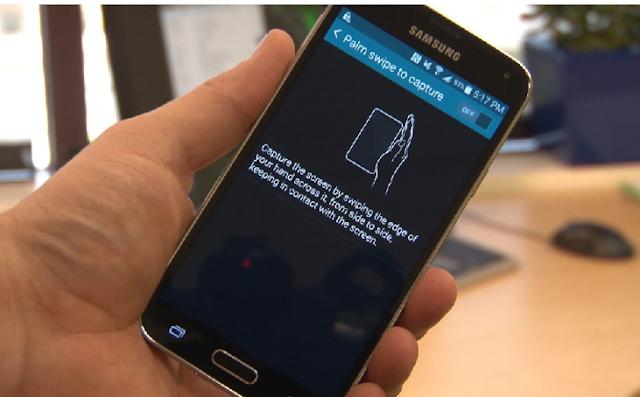 Cara Screenshot Samsung Galaxy A20 Tanpa Tombol 2
