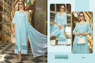 Shree fab Mariya b lawn Block buster vol 4 Pakistani Suits