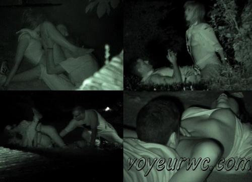 Couple Having Sex in Public on Street Hidden Cam (Galician Night Sex 84-85)