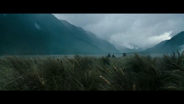 Les champs de blés de la nouvelle planète d'Alien Covenant