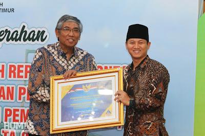 Pemkab Trenggalek Kembali Mendapatkan Penghargaan WTP dari Kementerian Keuangan RI