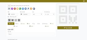 Chia sẻ code Tạo mã QR Online bằng Scrips