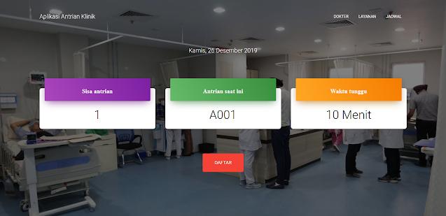 Aplikasi Manajemen Antrian Klinik Kesehatan