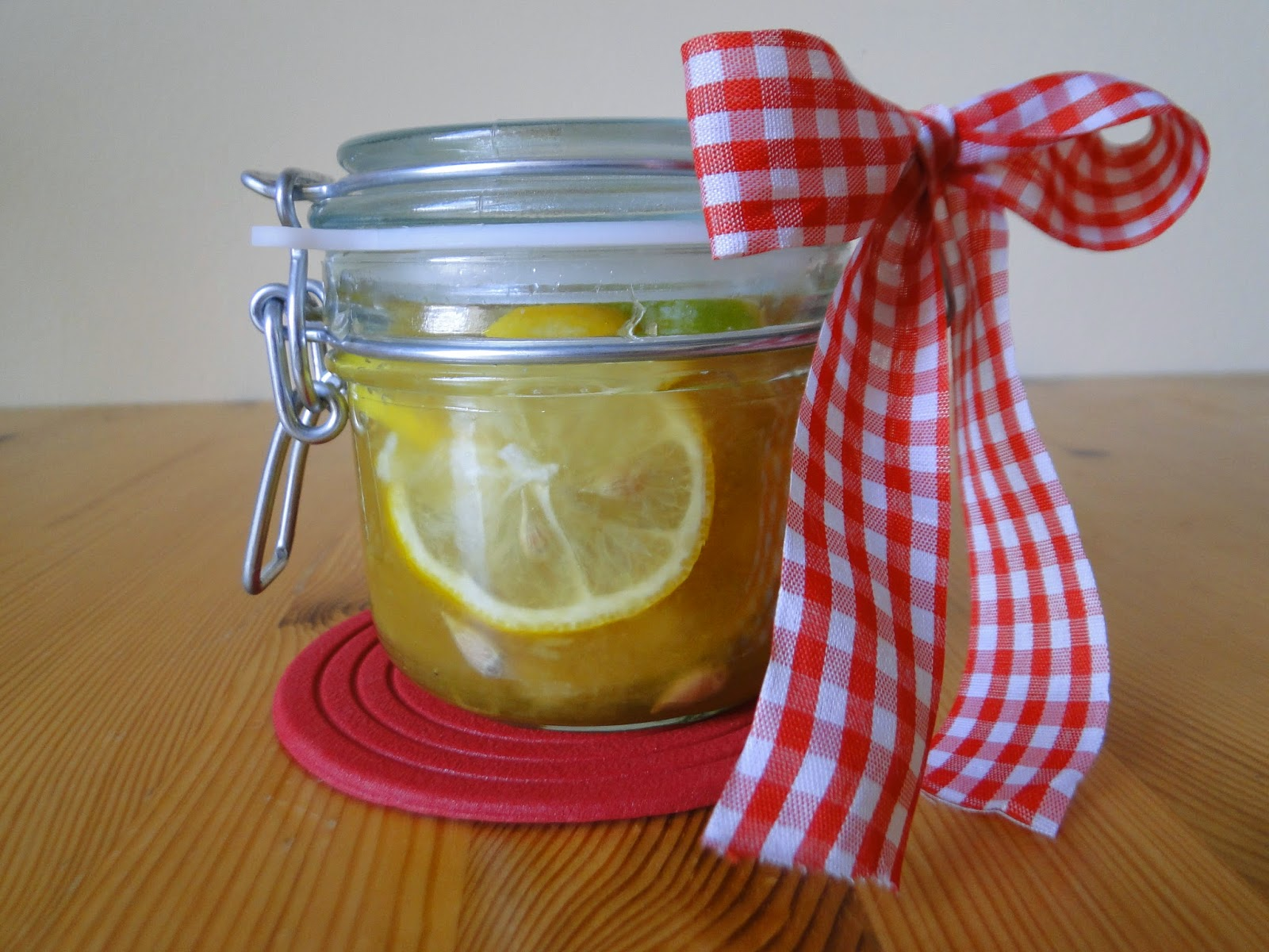 Syrop imbirowy z cytryną