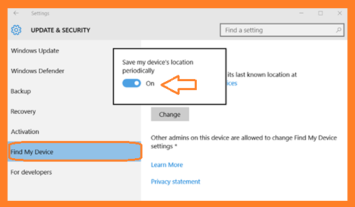 http://www.wikigreen.in/2015/12/windows-10-how-to-enable-find-my-device.html