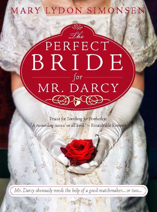 The Perfect Bride for Mr Darcy by Mary Lydon Simonsen book cover