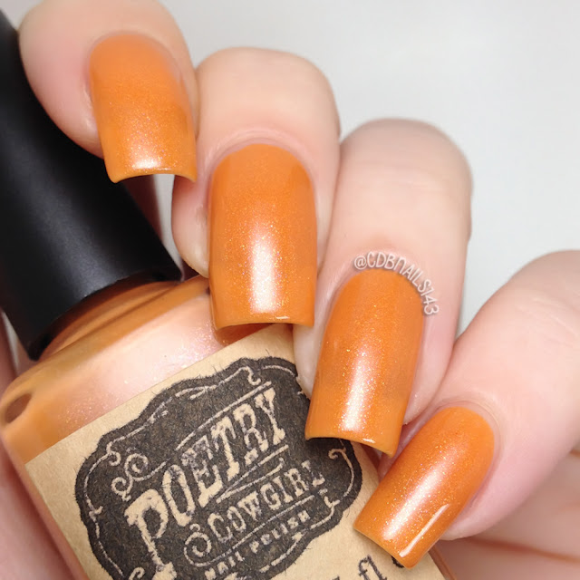 Poetry Cowgirl Nail Polish-Pumpkin Everything