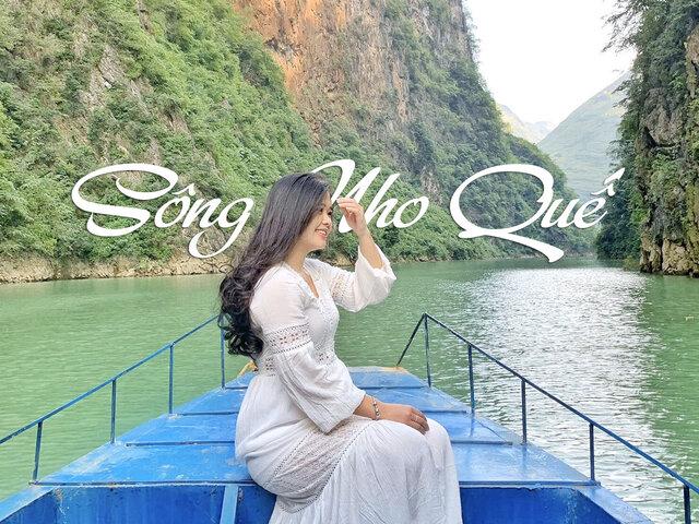Kinh nghiệm chèo thuyền ngắm sông Nho Quế - Hà Giang