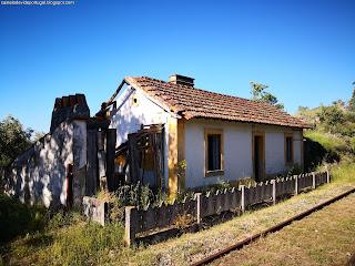 GERAL PHOTOS / Antigas Linhas de Comboios & Edificios, Castelo de Vide, Portugal