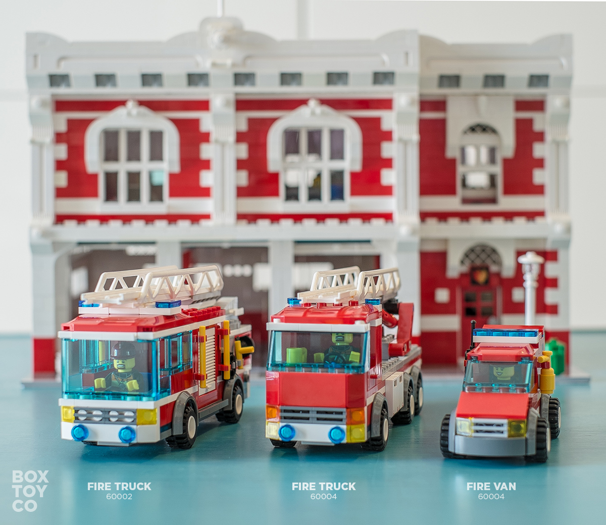 Lego Fire Station Moc Boxtoy