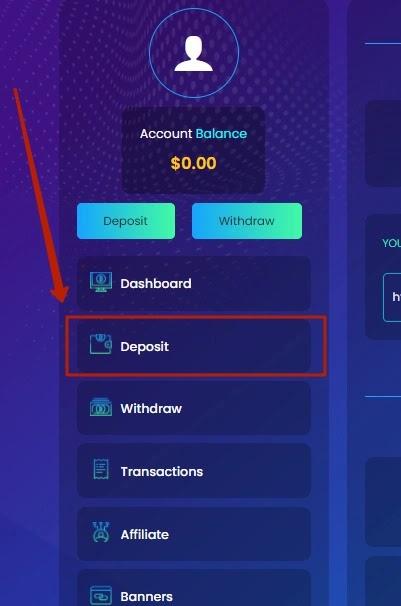 Пополнение баланса в Bitneo