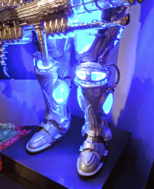 Mr Freeze costume boots Batman and Robin