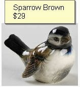 sparrow brown
