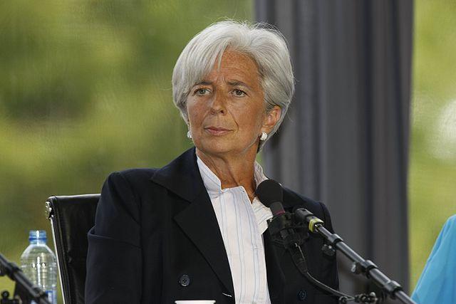 Интервью главы ЕЦБ Кристин Лагард