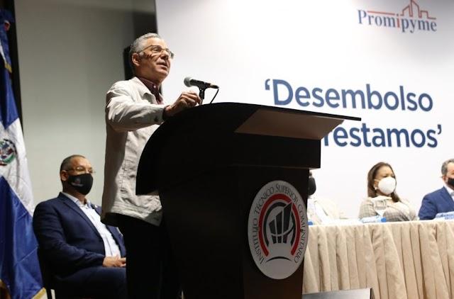 ITSC es sede entrega de préstamos 31 millones de pesos a Mipymes de parte de Promipyme y Programa Supérate