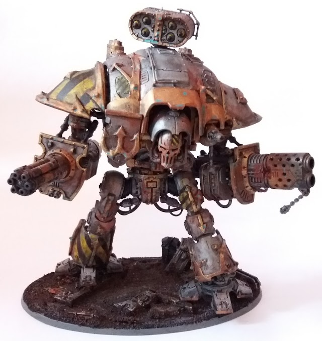 What's On Your Table: Iron Warriors Knight