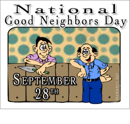National Neighbor Day Wishes Pics