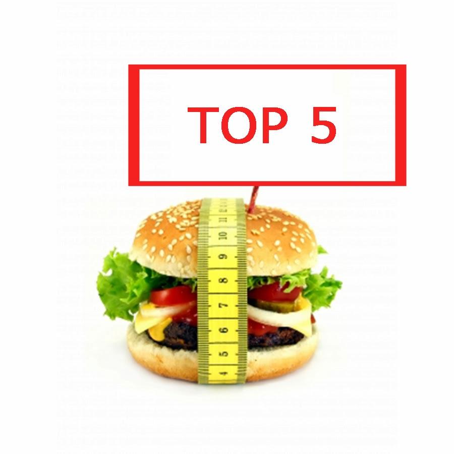 Los 5 alimentos que mas engordan: Top 5
