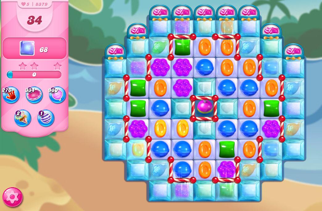 Candy Crush Saga level 8379