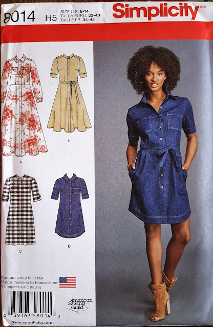 cover of a sewing pattern