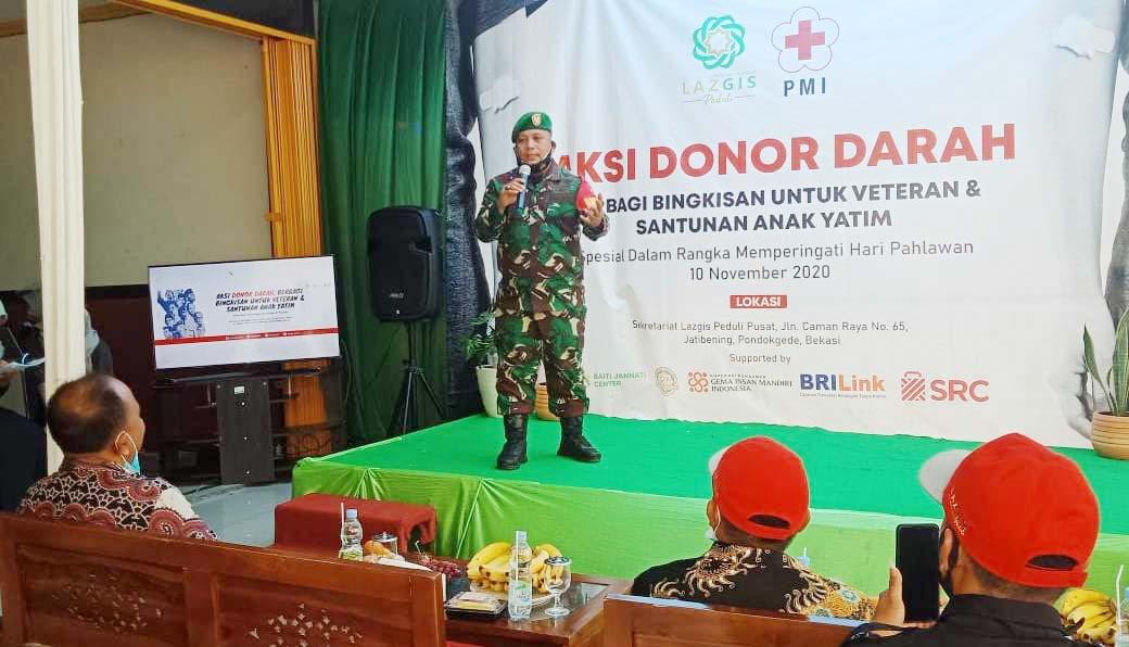 Danramil 02/Pondok Gede Mayor Inf. Rahmat Triyono