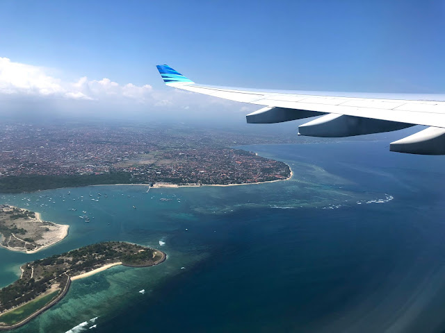 Bali, Indonesia from above