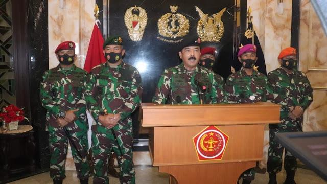 Panglima: Siapa saja  Mengganggu Persatuan Bangsa Akan Berhadapan dengan TNI
