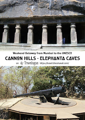 cannon hills - Elephanta caves - UNESCO Mumbai