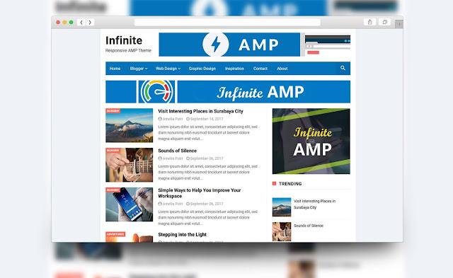 template blog amp html terbaik