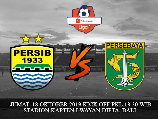 Persib VS Persebaya Jadinya Digelar di Bali, Jumat 18 Oktober 2019