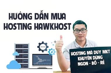 Hướng dẫn mua Hosting HawkHost dành cho người mới làm Website