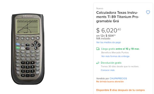 precio ti89