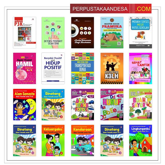RAB Pengadaan Buku Perpustakaan Desa Di Jawa Timur Paket 60 Juta