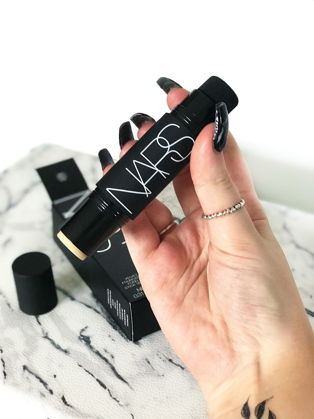 Nars Velvet Matte Foundation Stick Review