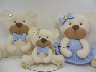 familia de urso para nicho