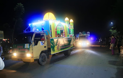 pawai takbir idul adha di kota tanjungpinang