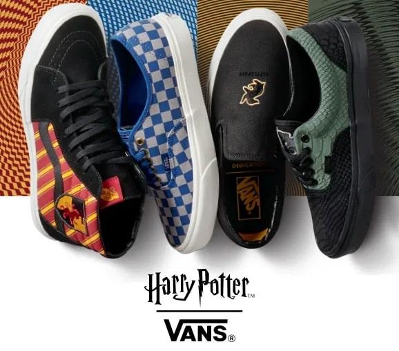 Vans lança coleção de tênis e acessórios inspirada em 'Harry Potter' | Ordem da Fênix Brasileria